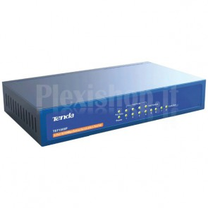 Desktop Switch 8 Porte con 4 Porte PoE
