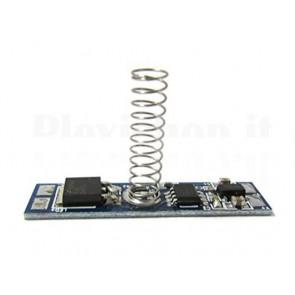 Dimmer touch per strisce LED con memoria, 8A