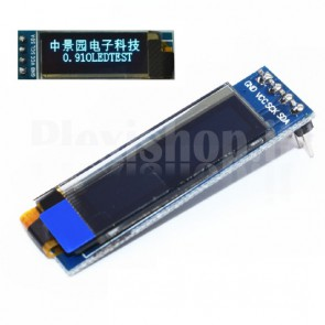 "Display LCD OLED 0.9"" 128x32 SPI"