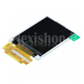 "Display LCD TFT ST7735S 1.8"", SPI 18pin 128x160"