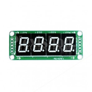 "Display LED 0.5"" a 4 digit I2C seriale, rosso"