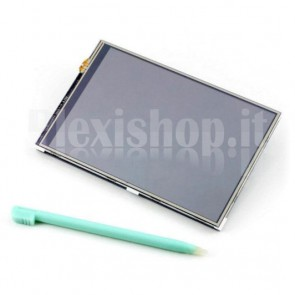 "Display touch screen 4"" per Raspberry Pi"