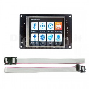 "Display touchscreen LCD 2.8"" TFT per RepRap"