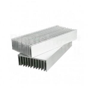 Dissipatore in alluminio estruso, 200x80x30mm