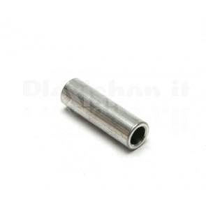 Distanziale in alluminio cilindrico per sistemi V-Slot da 10mm di diametro, lunghezza 6mm