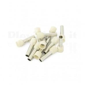 Puntale boccola singolo a crimpare - E10-18