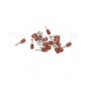 Puntale boccola singolo a crimpare - E1508