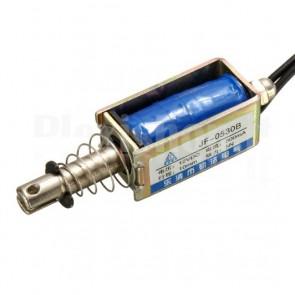 Elettromagnete Push-Pull JF-0530B con Molla di Ritorno, 12V