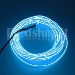 Filo elettroluminescente BLU Ø 2.3 mm - 10m