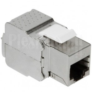 Frutto Keystone RJ45 Cat6A 10Gigabit STP 180° Toolless