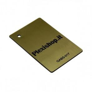 GABS-017   ABS Bicolore Oro Spazzolato/Nero 3,0 mm
