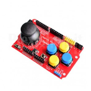 Gamepad Joystick Shield per Arduino