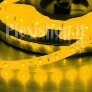 GIALLO - Bobina Striscia LED SMD 3528 60 Led/Metro IP65