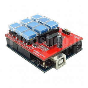 Shield pulsanti iBridge Lite 3x3 per Arduino