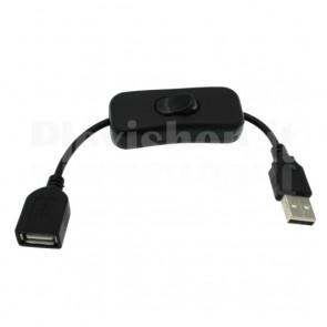 Interruttore a bilanciere con connettori USB