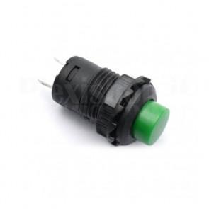 Interruttore a Pulsante Verde 12mm SPST ON-OFF