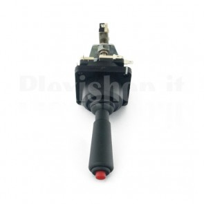 Joystick meccanico da pannello con leva e pulsante