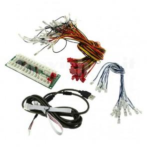 Encoder USB Reyann 2 giocatori per cabinati arcade - DIY Arcade - Arcade Encoder