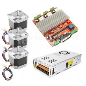 Kit 3 assi per CNC, 57x56 2.5A