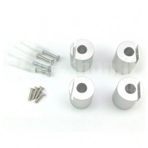 Kit di Montaggio Superficiale su Distanziale per Pannelli LED