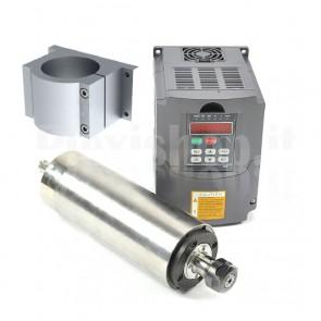 Kit elettromandrino + inverter 2.2KW CNC ER20