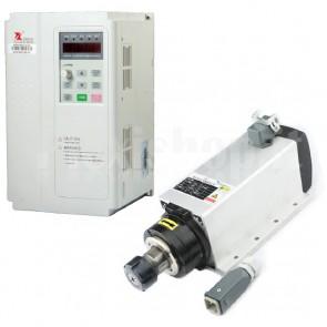 Kit elettromandrino + inverter 3.0KW CNC ER20