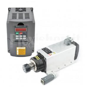 Kit elettromandrino + inverter 4.0KW CNC ER25