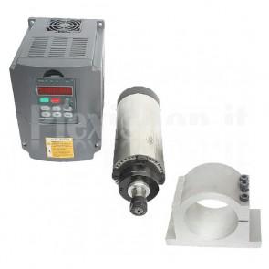 Kit elettromandrino + inverter 1.5KW CNC ER16