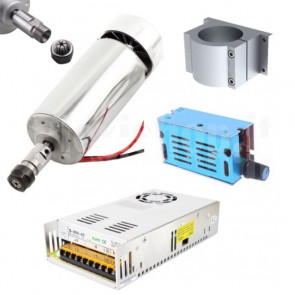 Kit elettromandrino da 300W per CNC ER11