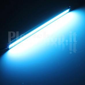 Kit Luci Diurne DRL COB LED (12V) - Crystal Blu