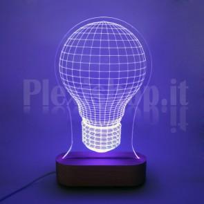 Lampada 3D Incandescenza RGB