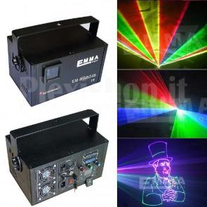 Laser RGB DMX ILDA per effetti di luce