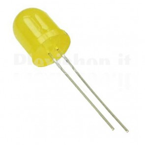 Led 10mm Giallo - 800 Mcd