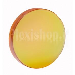 Specchio in silicio rivestito per laser CO2, diam. 19.05mm