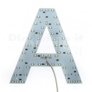 Lettera luminosa a Led - A