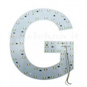 Lettera luminosa a Led - G