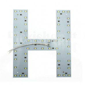Lettera luminosa a Led - H