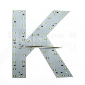 Lettera luminosa a Led - K
