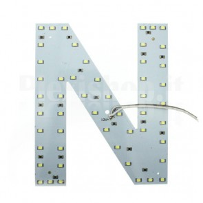 Lettera luminosa a Led - N