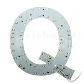 Lettera luminosa a Led - Q