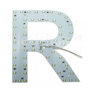 Lettera luminosa a Led - R