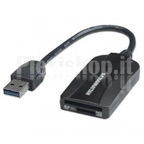 Lettore e Scrittore compatto multi-schede USB 3.0