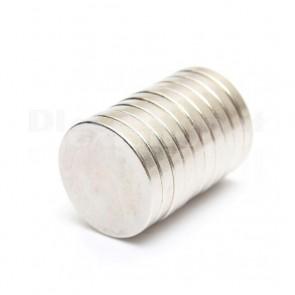 Magnete Neodimio - Dischetto Ø 20x3 mm