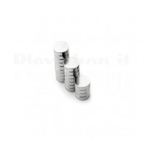 Magnete Neodimio - Dischetto Ø 3x1.5 mm