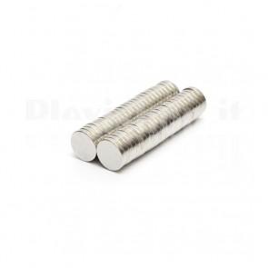 Magnete Neodimio - Dischetto Ø 8x1.5 mm