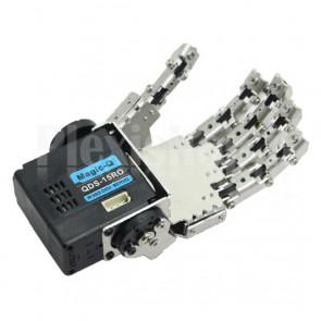 Mano sinistra a 5 dita per robot umanoide con servo, 1DOF