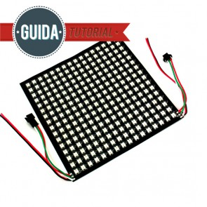 Matrice 16x16 led RGB indirizzabili WS2812B