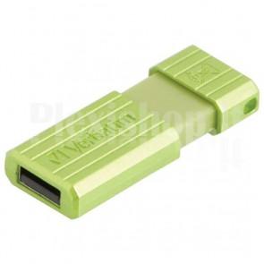 Memoria USB 2.0 PinStripe da 16Gb Colore Verde