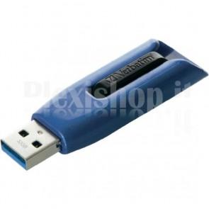 Memoria USB 3.0 Verbatim Retrattile 32GB Blu