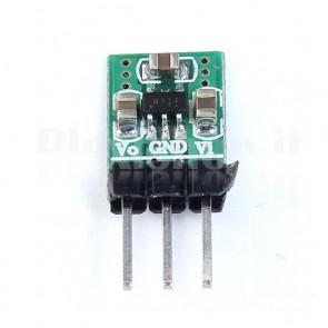 Micro convertitore DC-DC buck-boost 3.3VOUT